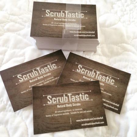 Scrubtastic cards